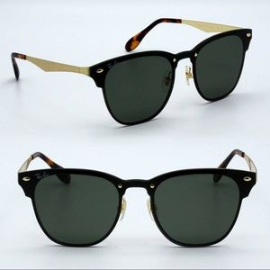 New Authentic Ray-Ban Clubmaster Blaze RB3576